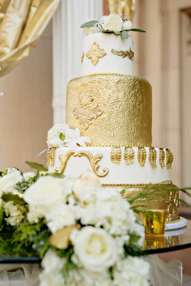 cake table - Andie Freeman Photography
