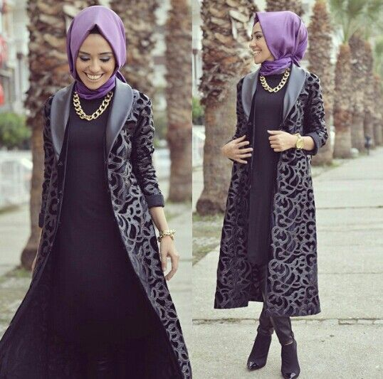 Jilbab fashion ideas for women (10)