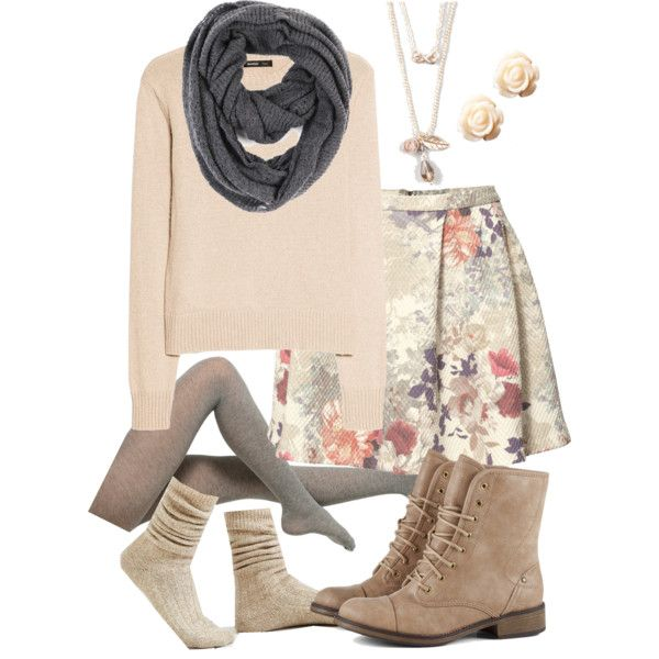 Winter Polyvore Combinations(10)