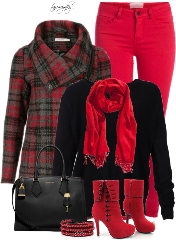 Winter Polyvore Combinations(7)