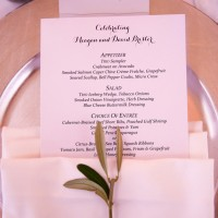 #Wedding place setting - Hyde Park Photography
