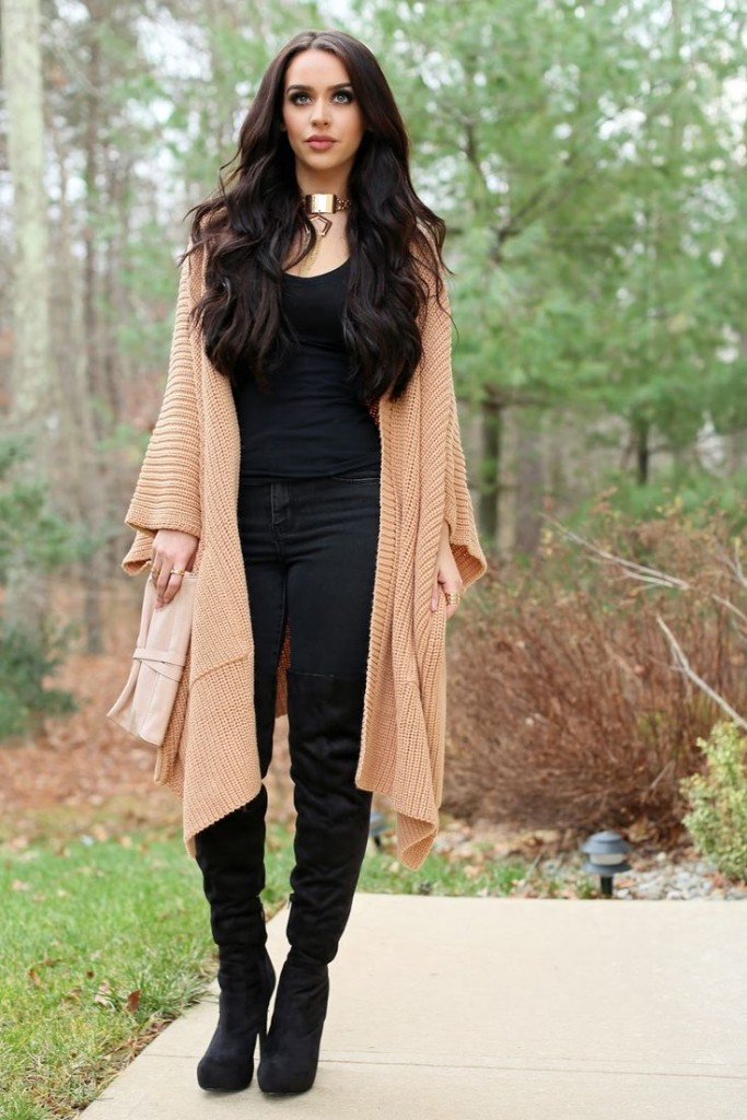 Stylish Outfit with Choker Necklace (10)