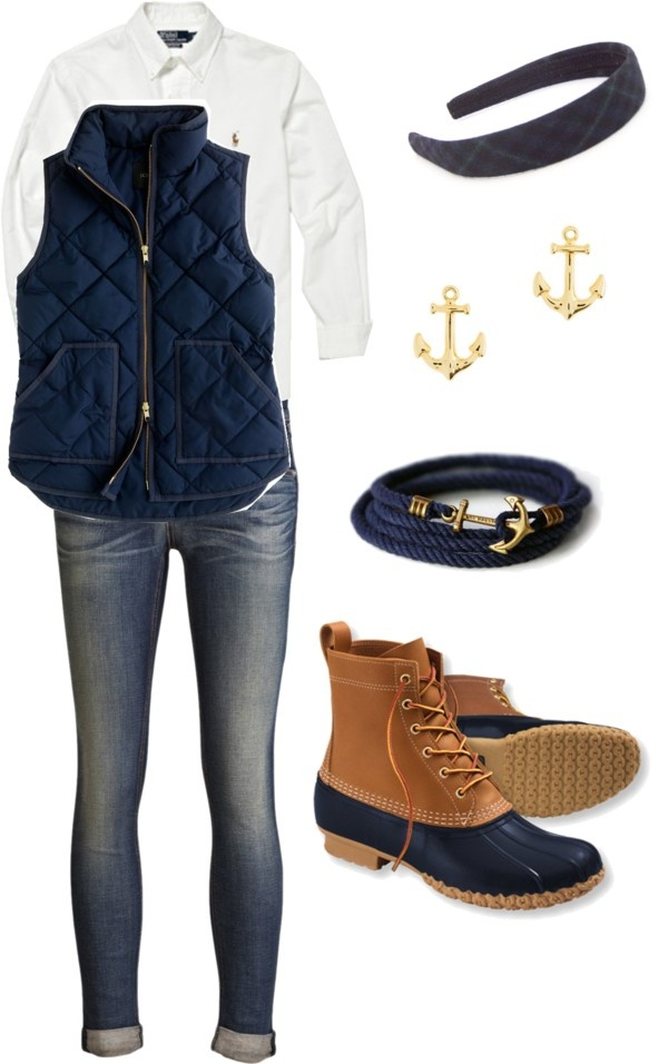 Winter Polyvore Combinations(20)