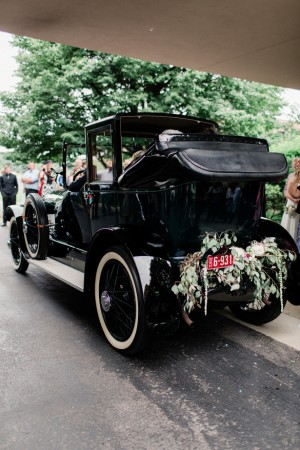 Vintage Wedding Transportation - Dan and Melissa Photography