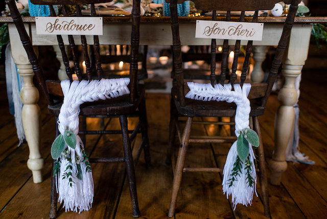Knit chair details | Lovely Peonies Photography | see more on: http://burnettsboards.com/2015/12/cozy-winter-wedding-knit-details/