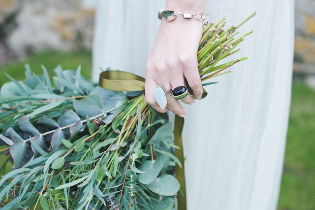 Unique gem rings | Laura Power Photography and @thewedbazaar | see more on: http://burnettsboards.com/2015/12/gem-themed-wedding-castle/