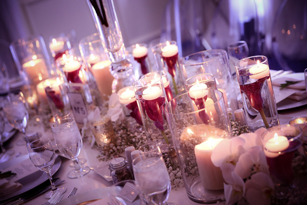Long Table #Wedding Centerpiece - Hyde Park Photography
