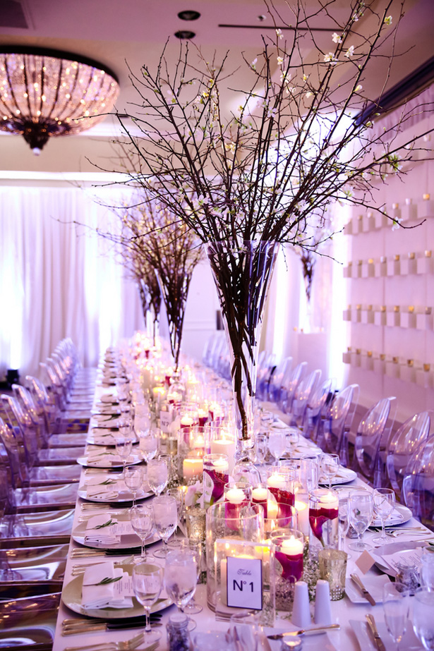 Winter Wonderland Wedding Tablescape - www.HydeParkPhoto.com