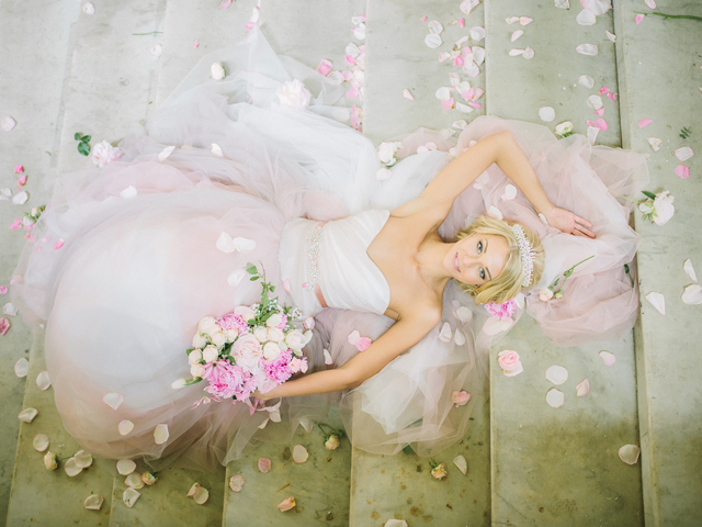 Romantic fairytale wedding | Rodion Shapor Photography | see more on: http://burnettsboards.com/2015/12/fairytale-rose-quartz-wedding-inspiration/