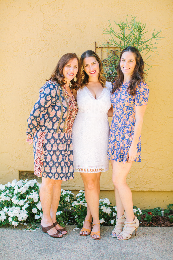 bridal shower portrait - photo by Yasmin Sarai Photography http://ruffledblog.com/rose-inspired-bridal-shower