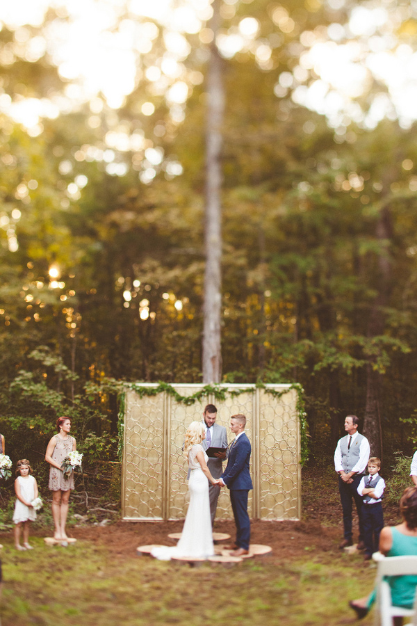 Best of 2015: Wedding Ceremonies - photo by Kelly Maughan Photography http://ruffledblog.com/best-of-2015-wedding-ceremonies