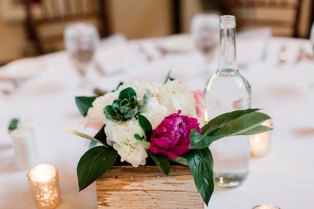 Wedding Centerpiece - Dan and Melissa Photography