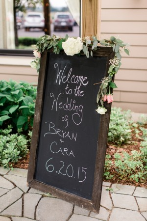 Wedding Sign White Bridesmaid dresses - Dan and Melissa Photography