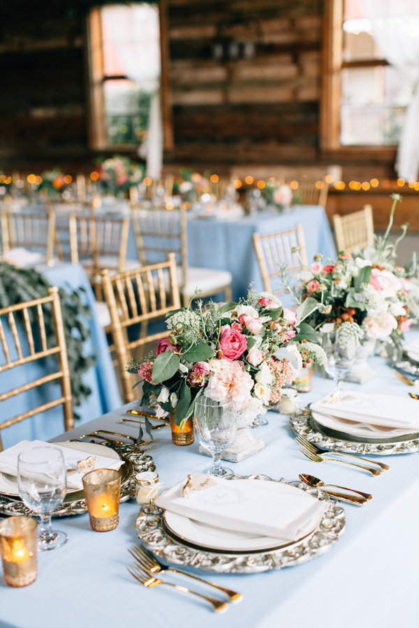 fairy tale inspired reception - photo by Lora Grady Photography http://ruffledblog.com/fairytale-cottage-wedding-at-craven-farm