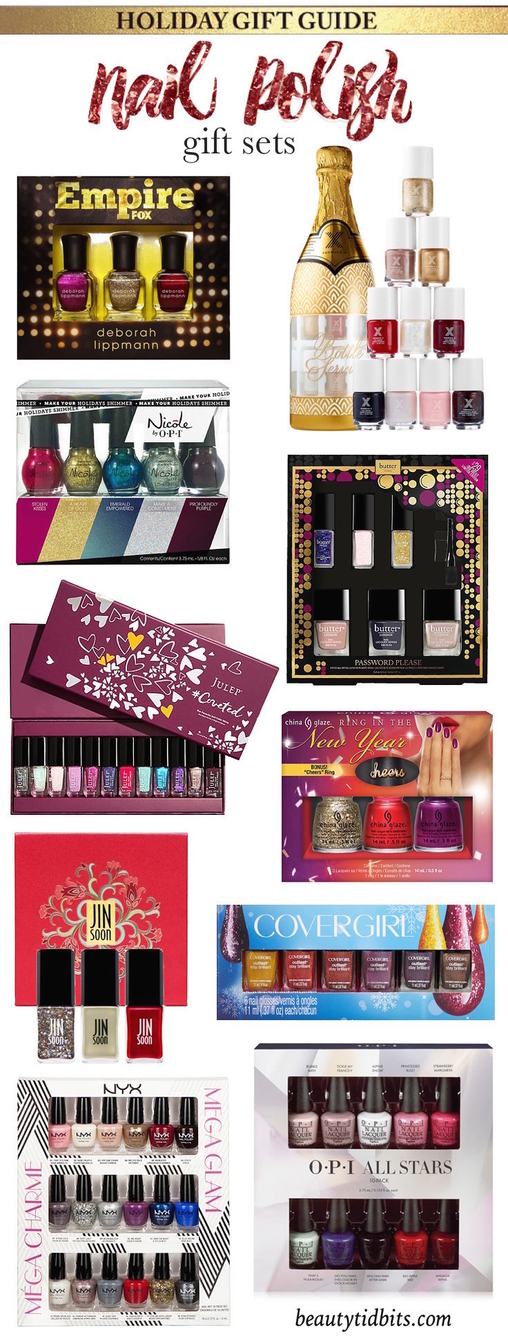 Click through to find out which gifts you should be buying for the nail polish junkies on your holiday list!