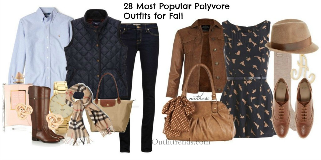Top polyvore fall outfits