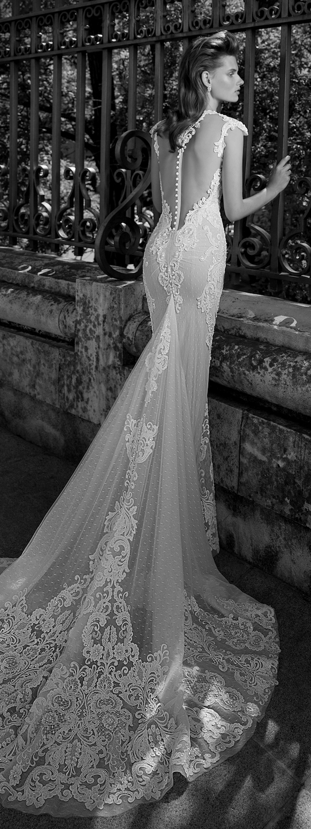 Wedding Dress by Berta Bridal Spring 2016 Collection