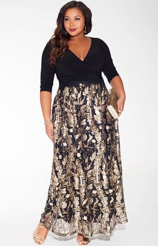 new year dress for plus size girls (20)