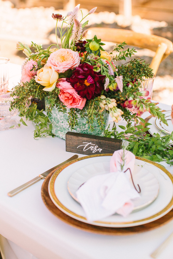 rosé inspired bridal shower - photo by Yasmin Sarai Photography http://ruffledblog.com/rose-inspired-bridal-shower