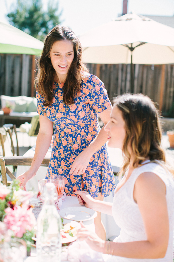 bridal shower - photo by Yasmin Sarai Photography http://ruffledblog.com/rose-inspired-bridal-shower