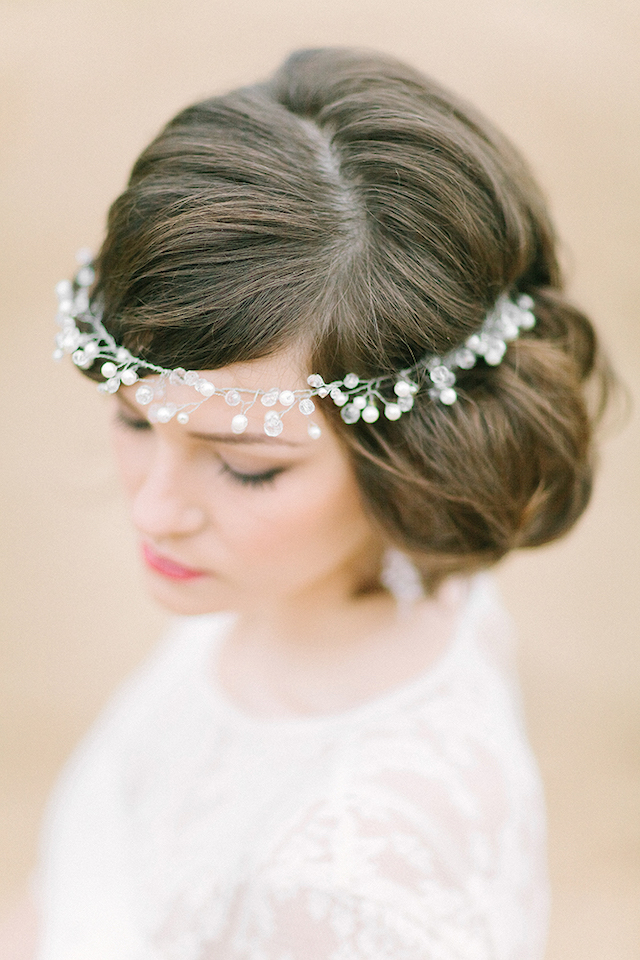 Stylish and chic undo for wedding | Sofia Martynova Photography | see more on: http://burnettsboards.com/2015/12/sophisticated-bohemian-bride/