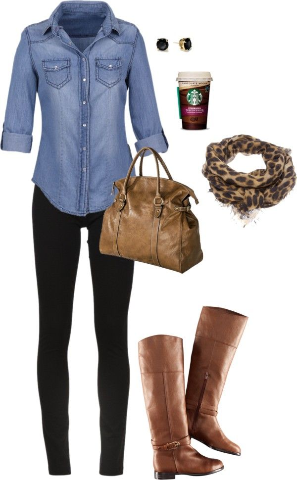 Fall Polyvore Combinations(20)