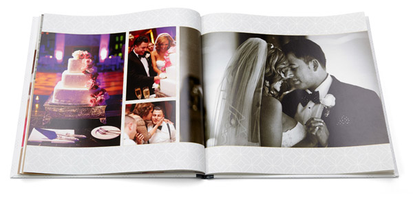 shutterfly make my book easy affordable professionally designed wedding photo book page layout