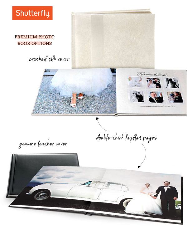 shutterfly make my book wedding photo book album professional design cheap one time fee lay flat page hard cover