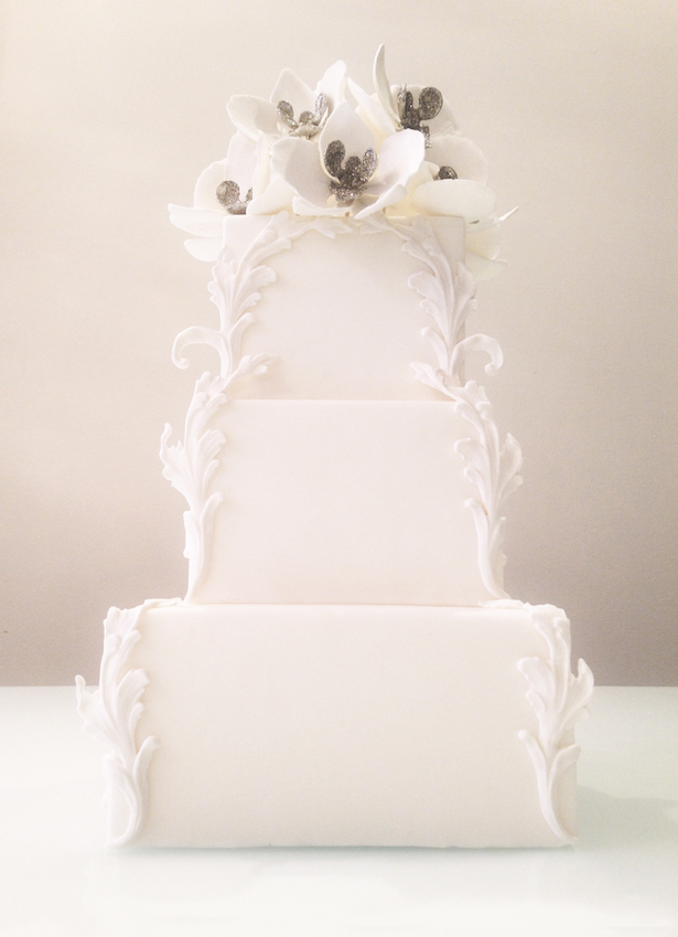 Winter Wedding Cake - White Cakery Co.