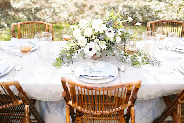 Eastern shore garden wedding reception | V.A. Photography | see more on: http://burnettsboards.com/2015/12/eastern-shore-wedding/