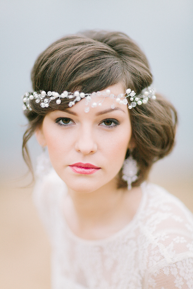 Bridal makeup | Sofia Martynova Photography | see more on: http://burnettsboards.com/2015/12/sophisticated-bohemian-bride/