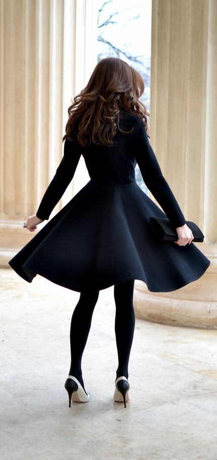 how to wear black tights (10)