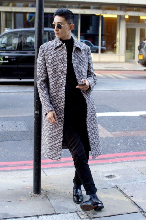 Long Down Coat Outfits(3)