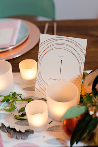 Minted table number | Jessica Haley Photography | @aislesociety | see more on: http://burnettsboards.com/2016/01/aisle-society-debut-sponsored-minted/