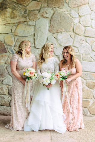 Mismatched bridesmaids | Madison Short Photography | see more on: http://burnettsboards.com/2016/01/taylor-swift-inspired-wedding/