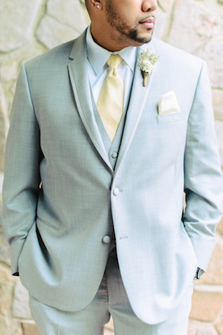 Dusty blue groom's suit | Madison Short Photography | see more on: http://burnettsboards.com/2016/01/taylor-swift-inspired-wedding/