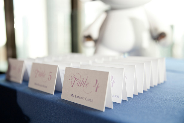 Escort Cards - Dawn Joseph Photography