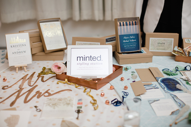 Minted wedding paper | Jessica Haley Photography | @aislesociety | see more on: http://burnettsboards.com/2016/01/aisle-society-debut-sponsored-minted/