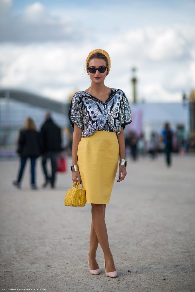 pencil skirt outfit ideas 2