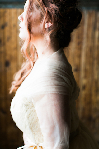 Sleeved wedding dress | Alea Lovely Photography | see more on: http://burnettsboards.com/2016/01/affordable-couture-wedding-dresses/