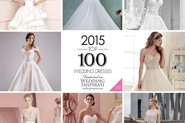 050e42c08e9d On Monday, we highlighted 50 of the most popular bridal collections on  Wedding Inspirasi in 2015. We continue today with the top 100 wedding  dresses of the ...