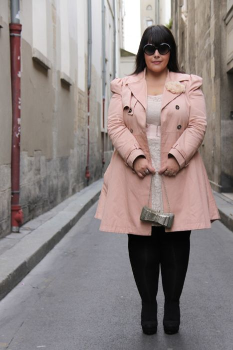 pink outfits for plus size girls (5)