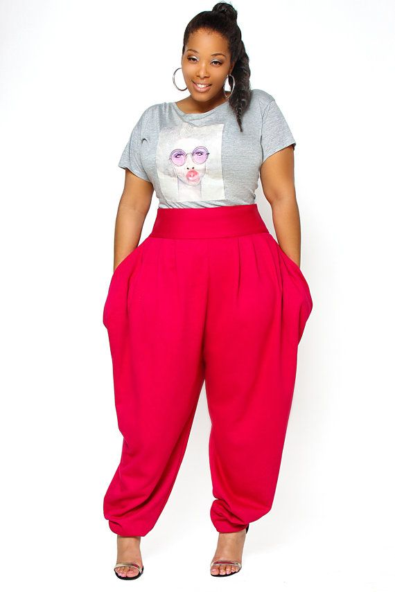 pink outfits for plus size girls (4)