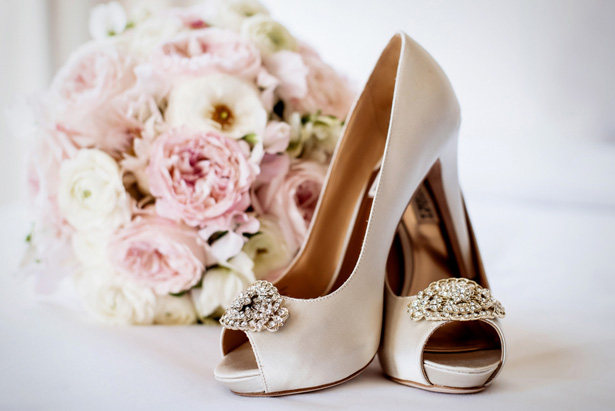 Wedding shoes - William Innes Photography