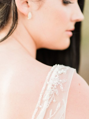 Wedding dress details - Angelica Chang Photography