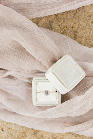 Ring box   Alicia Lacey Photography   see more on: http://burnettsboards.com/2016/01/darling-outer-banks-wedding/