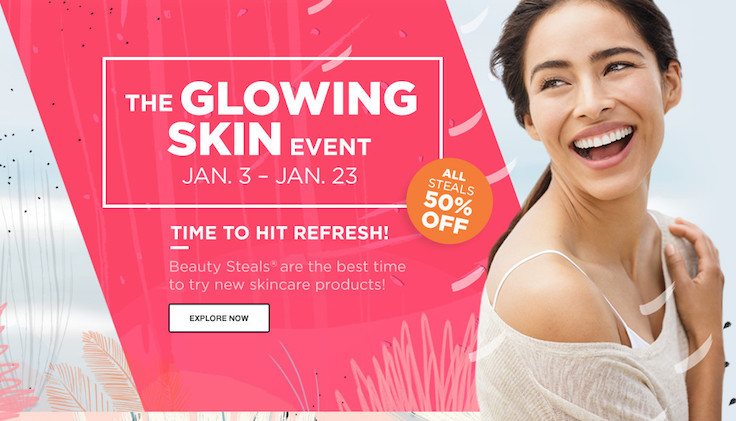 Ulta Beauty Glowing Skin Event 2016
