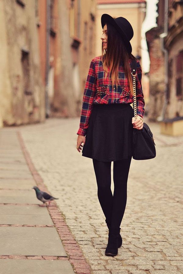 how to wear black tights (12)