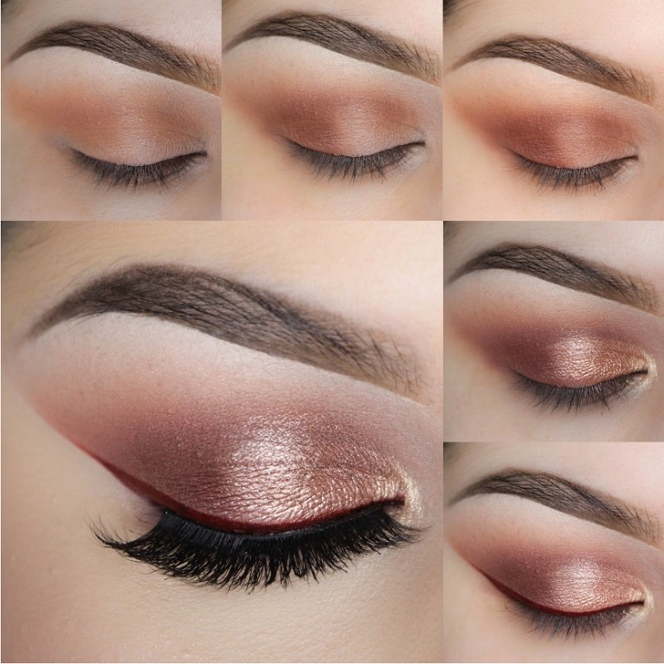 Top 10 Beautiful Shimmery Makeup Ideas