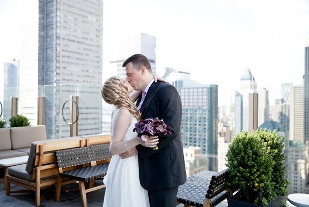 New York City Rooftop Wedding - Dawn Joseph Photography
